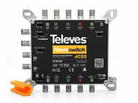 Multiswitch Televes NevoSwitch dCSS 5x5x2, ref. 714141, Unicable II