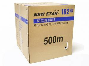 Kabel NEW STAR 102 4k 1.02 CU (500m)