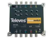 Wzmacniacz do multiswitchy 5x5 NEVO, Televes, ref. 714509
