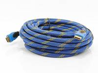 Kabel HDMI HD83 v1.4 - BLUE, 10m